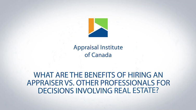 What are the benefits of hiring an appraiser?