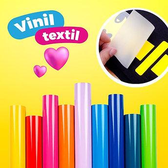 Vinil Textil PVC  (Variedad de colores)