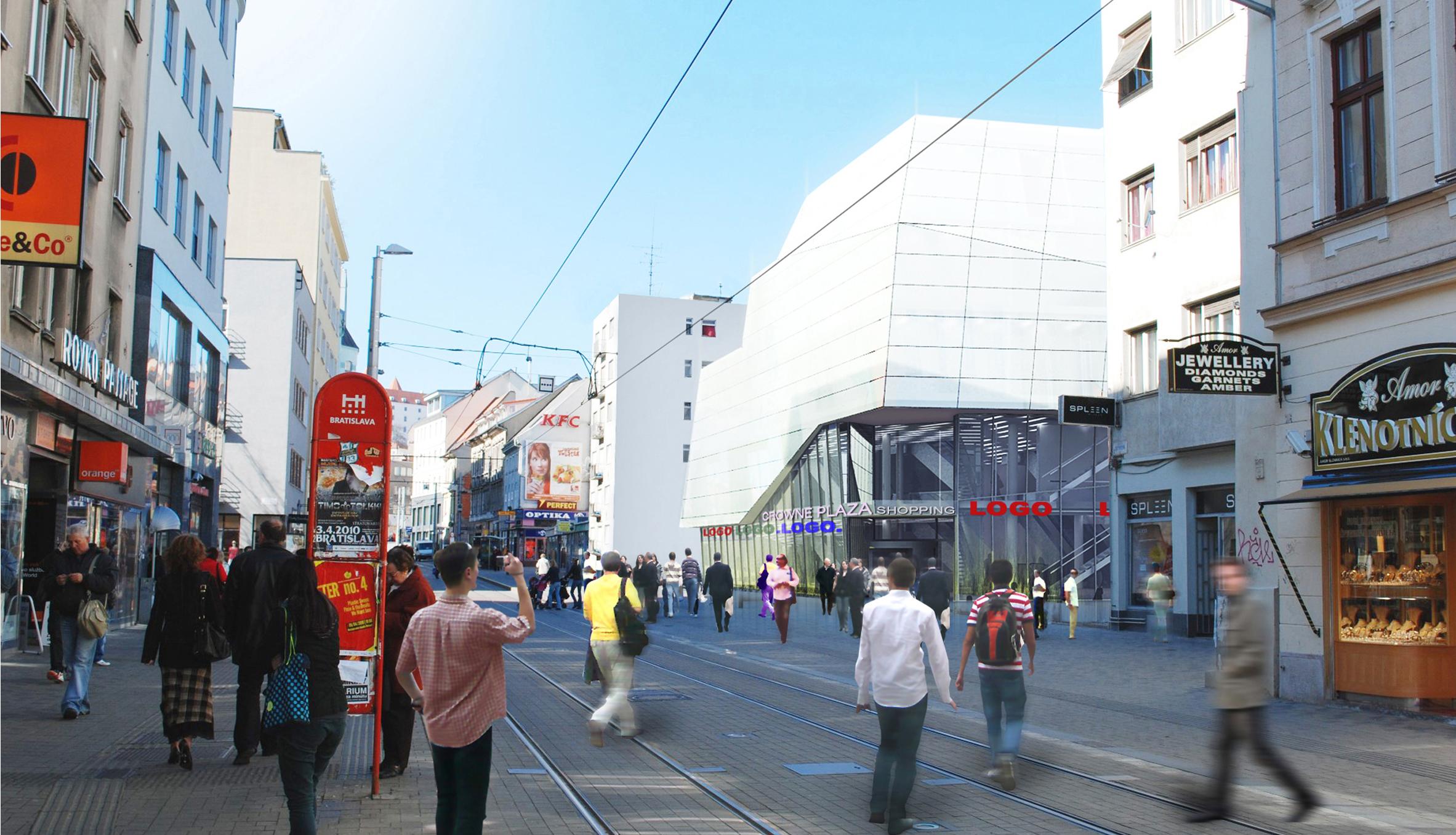 Prístavba k Hotel Crowne Plaza