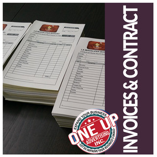 invoices & contract
