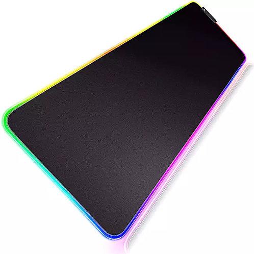 Gimars Upgrade Mutispandex Fiber Smooth Fast Movement RGB Led Gaming Mouse Pad E