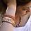 Thumbnail: Bracelet Multi-rangs corail
