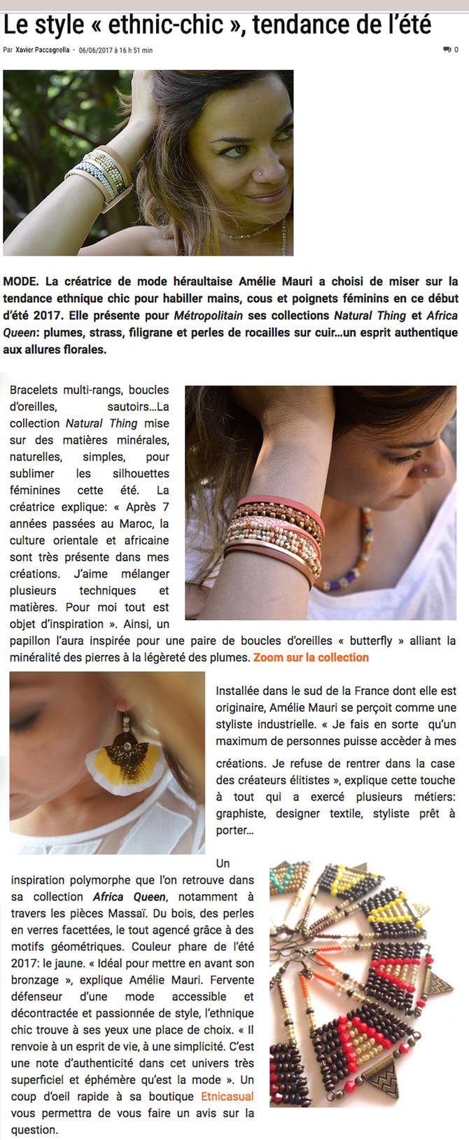 E-Métropolitain magazine lifestyle Montpellier