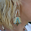 Thumbnail: Boucles d'oreilles triangle Massaï