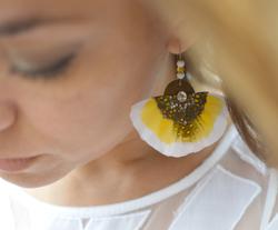 Boucles d'oreilles Butterfly