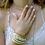 Thumbnail: Bracelet Multi-rangs nude