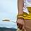 Thumbnail: Bracelet Multi-rangs jaune solaire