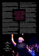 Pink tribute feature magazine