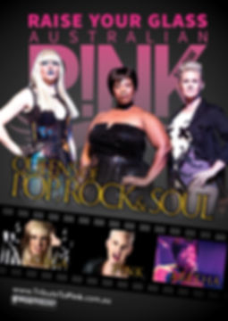 Pink Gaga Aretha Tribute Show
