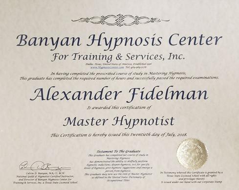 5-PATH® Master Hypnotist Certification