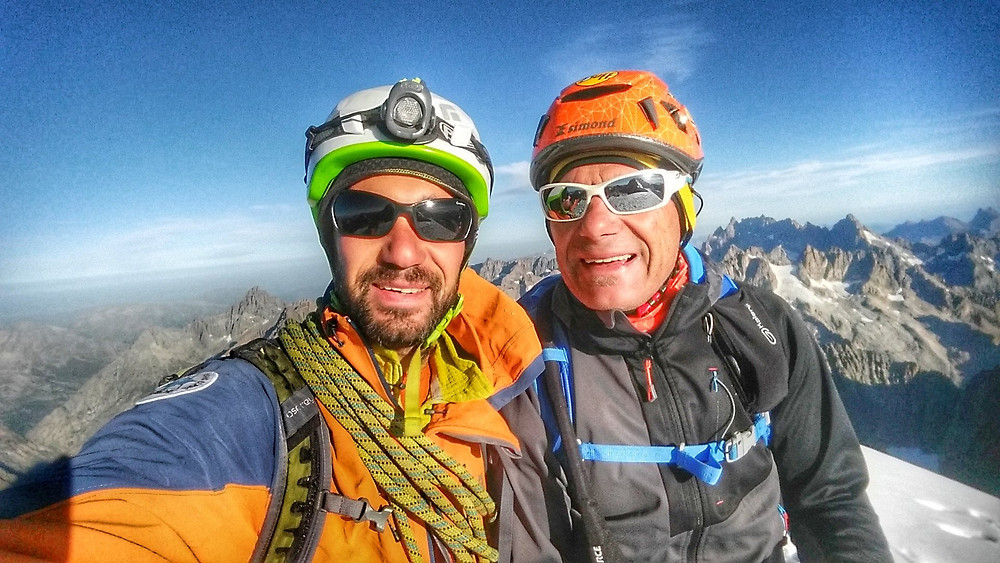 Dôme des Ecrins avec Nicolas Gros Guide Haute Montagne