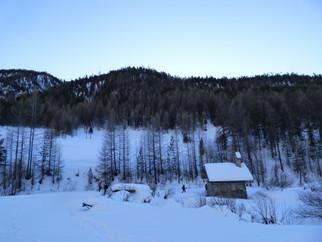 Une randonnée en raquettes à neige pour débuter 2019!