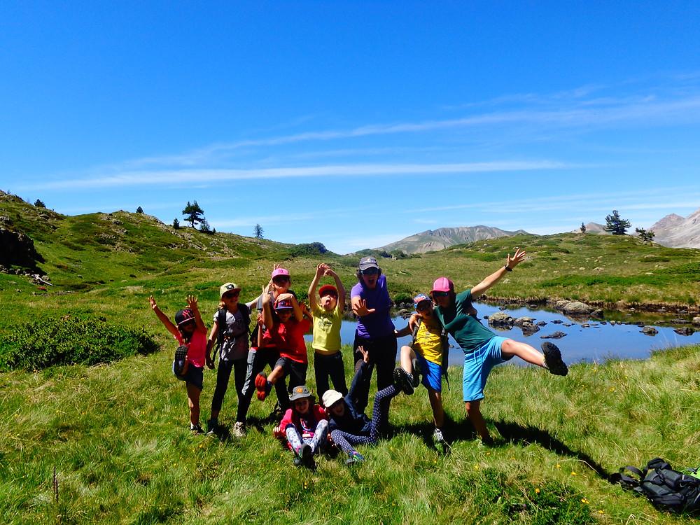 Les P'tits Montagnards avec Samantha NICOLAS Accompagnatrice En Montagne