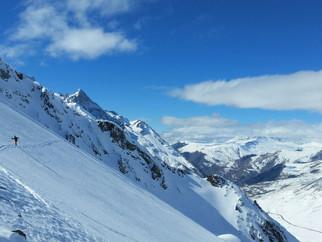 Des conditions exceptionnelles pour une sortie ski de rando!