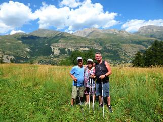 Sur les hauteurs de la Vallée de la Guisane