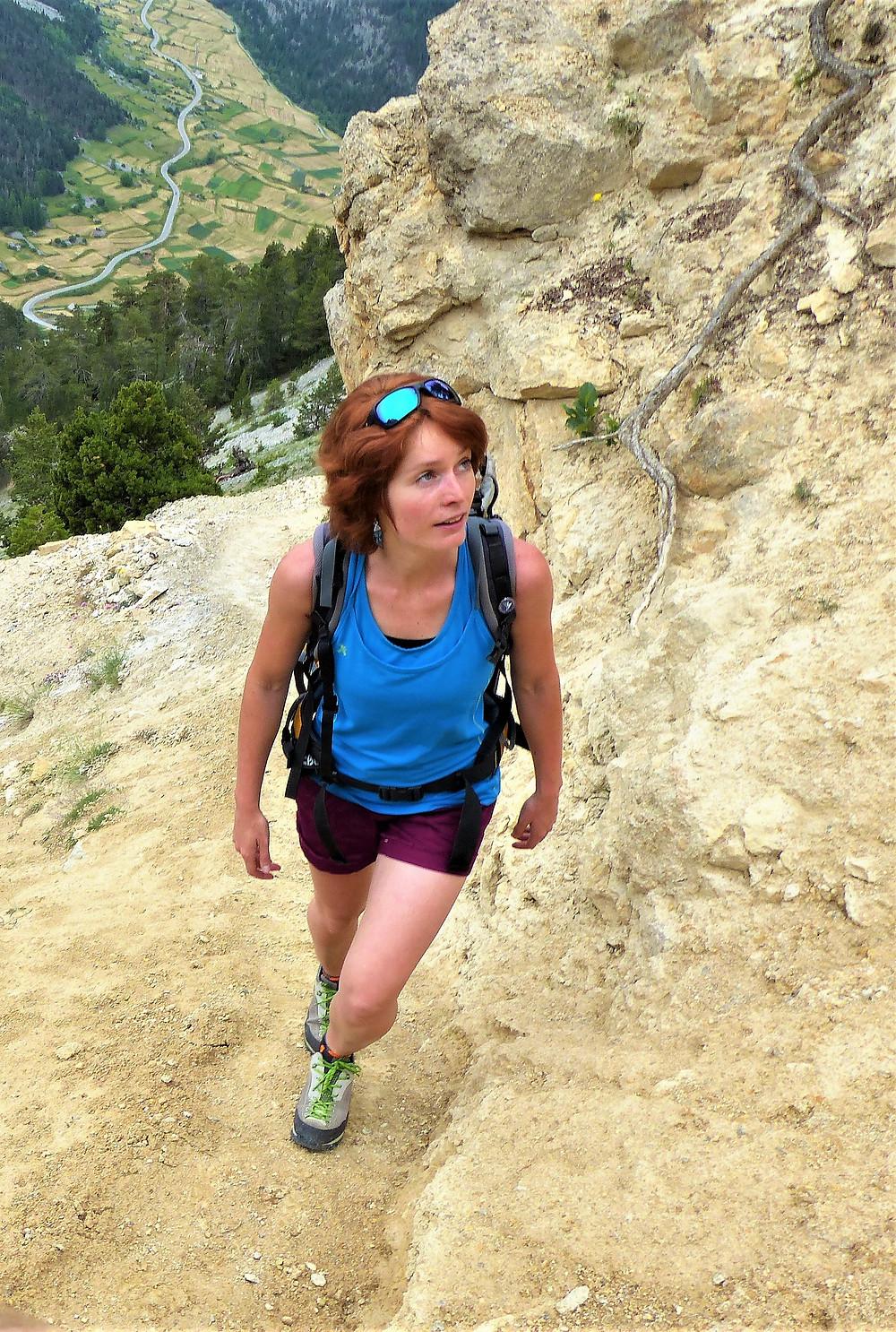 Samantha NICOLAS - Accompagnatrice en Montagne - Roche Moutte