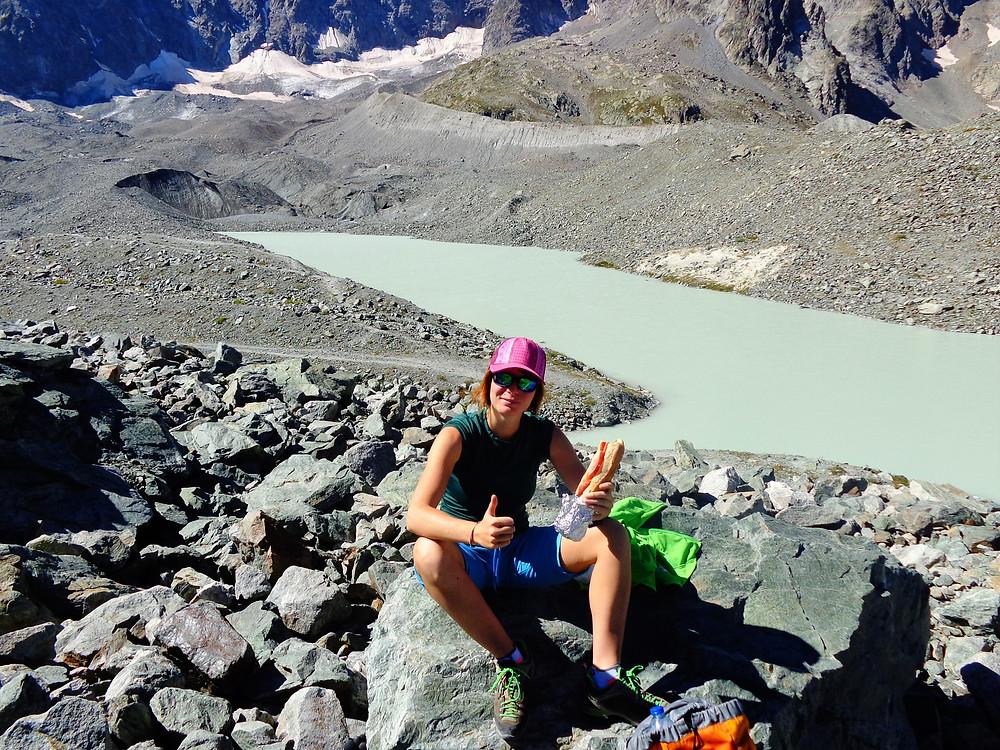 Samantha NICOLAS - Accompagnatrice en Montagne - Tour du Combeynot