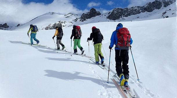 Ski de Randonnée, Col de la Traversette, Queyras