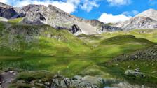 Le Lac des Cordes (2446 m) - Vallée des Fonts de Cervières