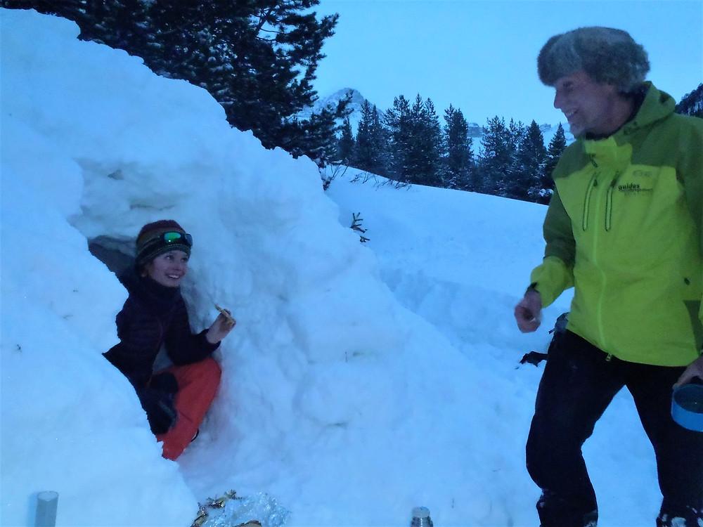 Samantha NICOLAS - Accompagnatrice en Montagne - Igloos