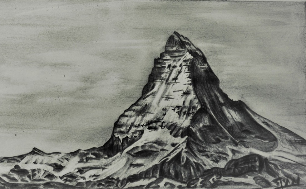 Dessin en Montagne