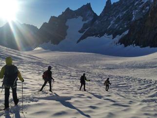 Acclimatation dans les Ecrins en vu d'un Kilimandjaro à 5895m