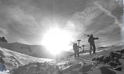 Freeride, La Grave, Col du Lac, Glacier de la Girose