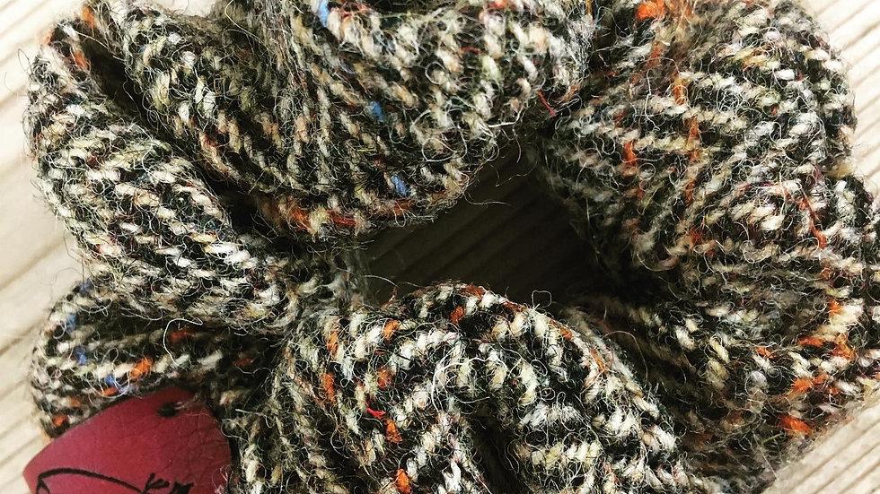 Harris Tweed Scrunchie