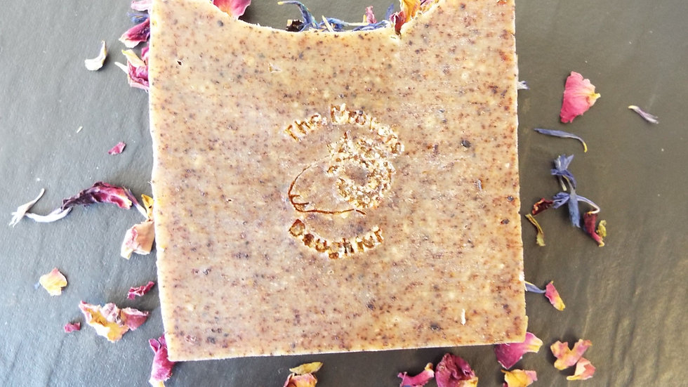 Sheeps Milk Soap with Rose , Geranium & Frankincense