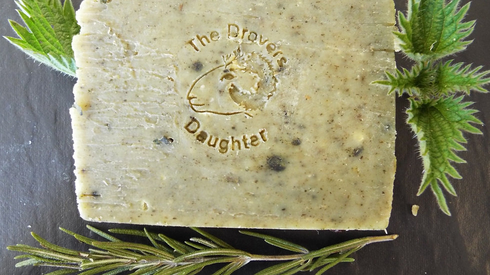 Sheeps Milk Soap with Nettle & Rosemary
