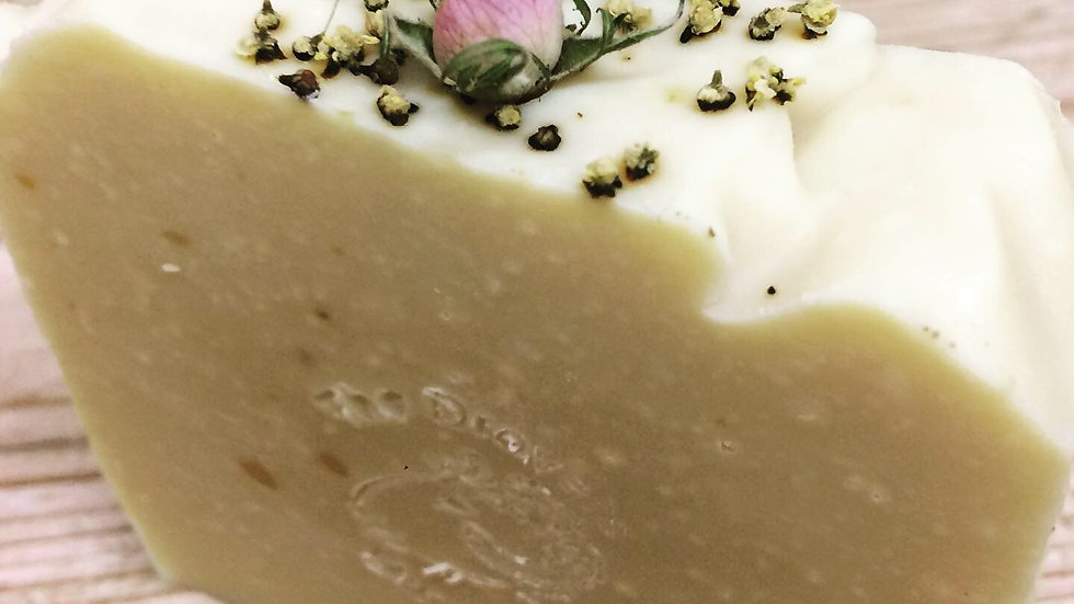 Wild Rose and Elderflower Sheep's Milk soap