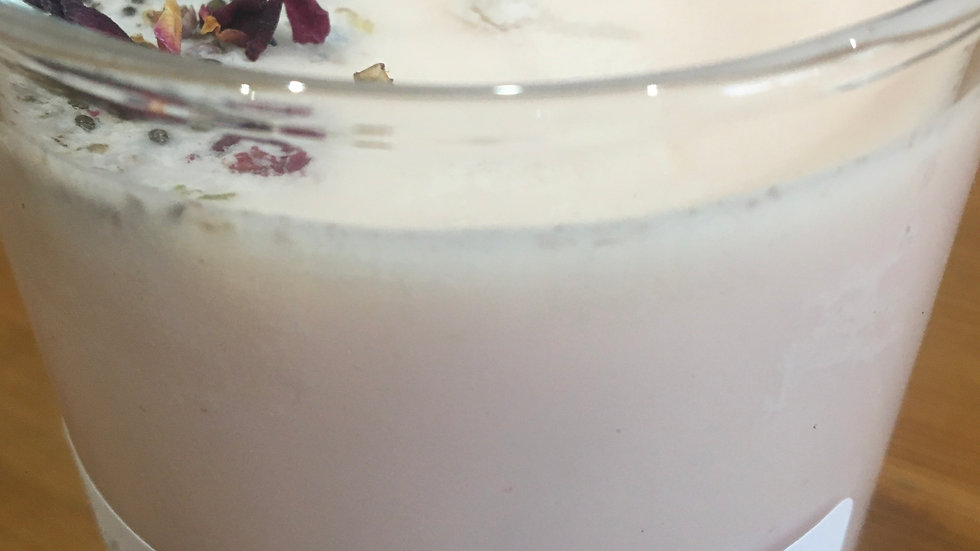Sheeps Milk Candle with Rose & Frankincense