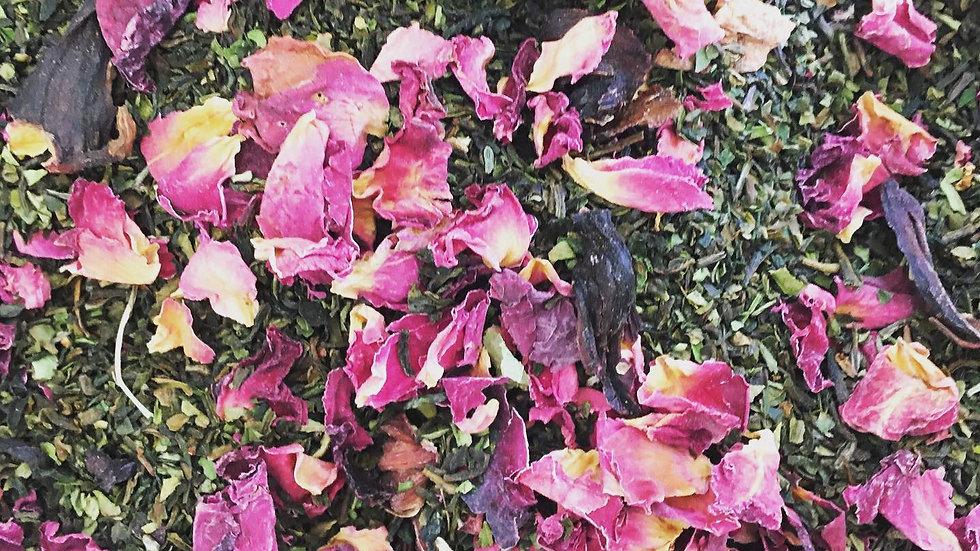 Darjeeling with Rose & Hibiscus Flowers