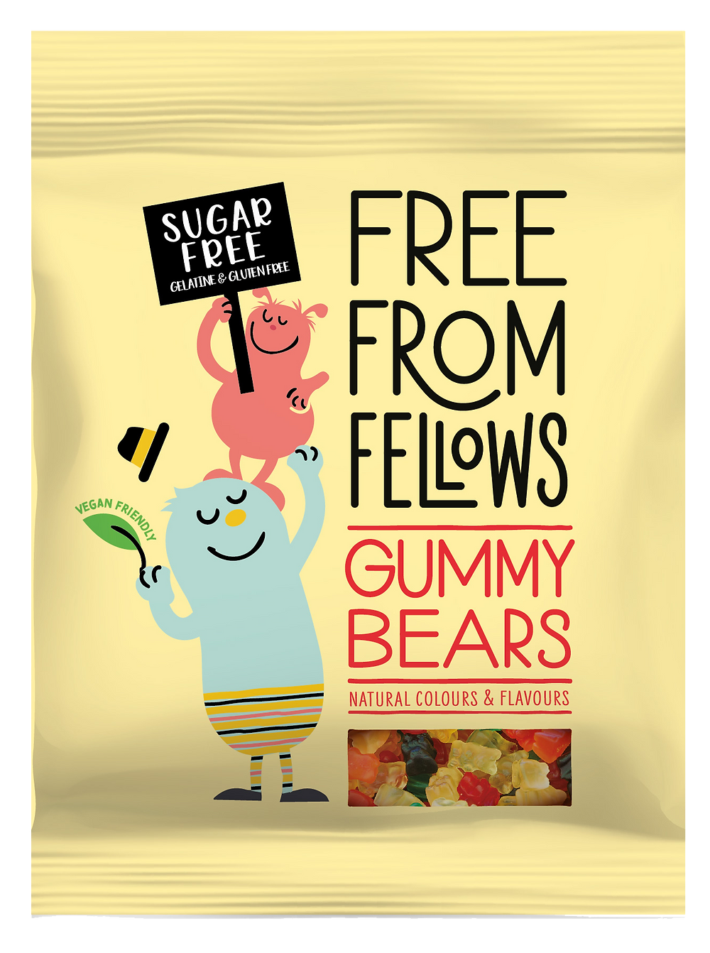 Free From Fellows Gelatine Free Gummy Bears
