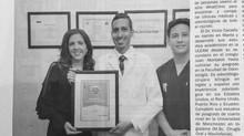 Odontólogo Mantense Reconocido con premio internacional