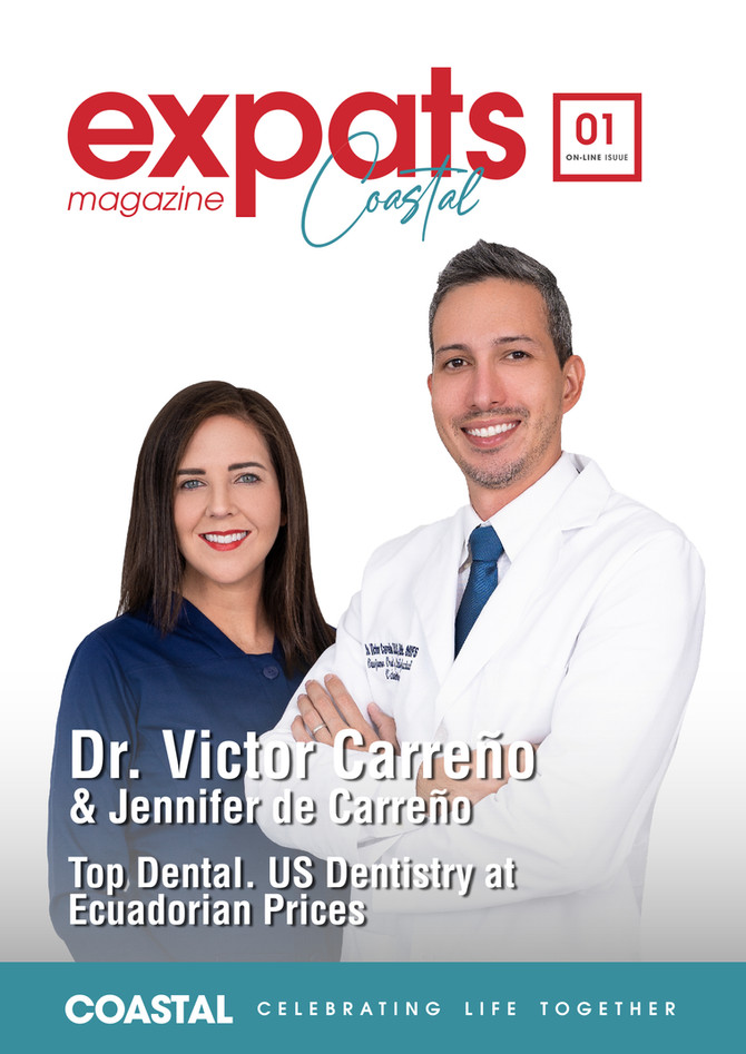 TopDental featured on the cover of Coastal Expats Magazine!