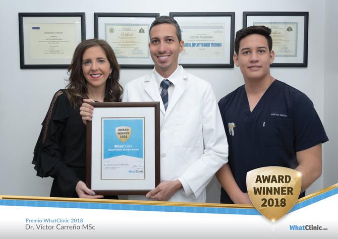 Dr. Victor Carreño, Manta Ecuador, Rated Top Dentist by WhatClinic