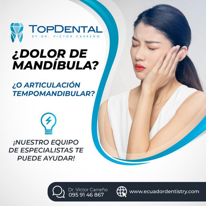 ¿Dolor de mandíbula o articulación temporomandibular? Te podemos ayudar.