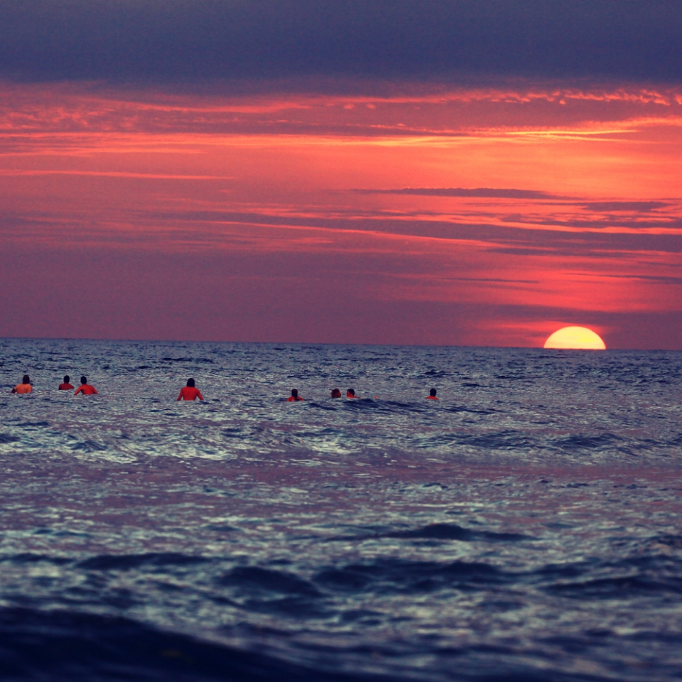 Sunset Surf Montañita