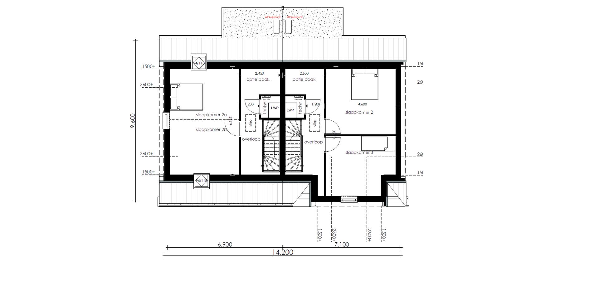 Prattegrond 1e verdieping