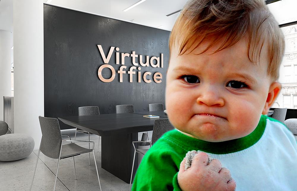 Branded virtual background