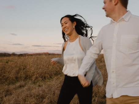 Clay + Adrienne's Carefree Engagement Photos