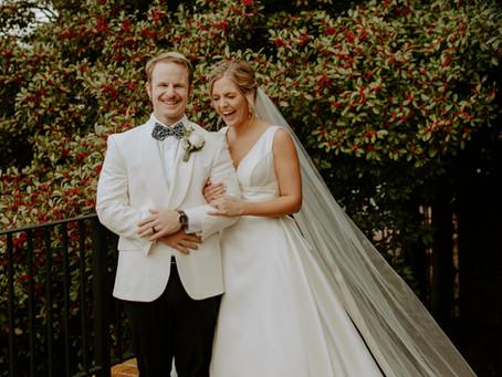 Tori + Christopher's Downtown Winter Wedding