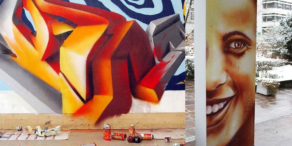 Streetart / Graffiti Workshop