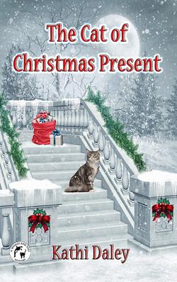 Cat of Christmas Present Facebook