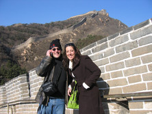 Calling Mom & Dad from The Great Wall!