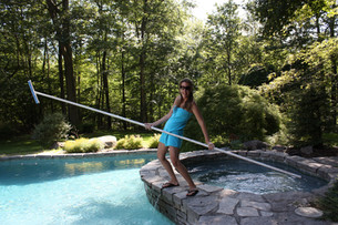 Danielle's Pool Cleaning Lessons!