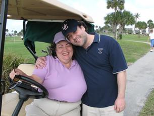 Mom & Scott - Our Family Foursome!