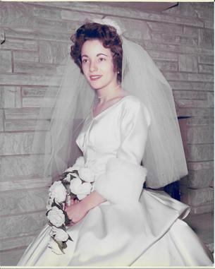 Mom Wedding Portrait - 1963!