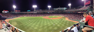 Our game view from the Monstah!